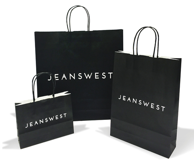 Jeanswest New Paper Bags